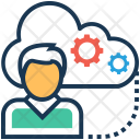 User Cloud Computing Icon
