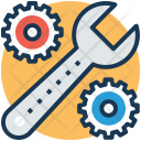 Settings Mechanism Mechanic Icon