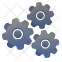 Settings Gears Mechanism Icon