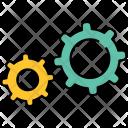 Settings Gear Optimize Icon