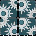 Settings Applications Program Icon