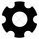 Settings Gear Bolt Icon
