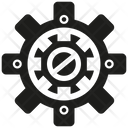 Gear Cog Setting Icon