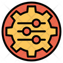 Management Maintanance Cog Wheel Icon