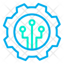 Connection Settings Connection Cogwheel Icon