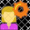 Settings Female Icon