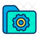 Folder Setting Configuration Icon