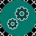 Settings Gear Web Icon