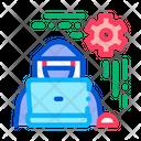 Settings Hacker Pentesting Icon