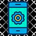 Phone Setting Configuration Icon