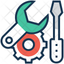 Setup Technical Screwdriver Icon