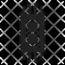 Seven Segment Electronic Counter Icon