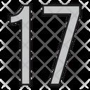 Seventeen Icon