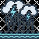 Severe Bad Weather Icon