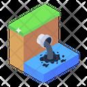 Effluent Industrial Effluent Sewage Effluent Icon