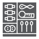 Sewing kit Icon