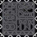 Sewing Kit Craft Icon