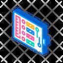 Sewing Kit Isometric Icon