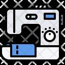 Sewing Machine Cloth Icon