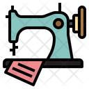 Sewing Machine Fabric Icon