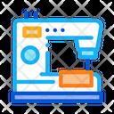 Sewing Machine Leatherworking Icon