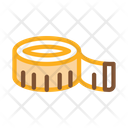 Meter Sewing Tape Icon