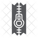 Sewing Zip Tailor Icon