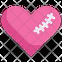 Sewn Heart Icon