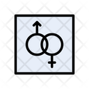 Sex Gender Romance Icon