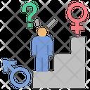 Male Lesbian Transgender Icon