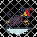 Saxophone Instrument Circus Icon