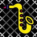 Sexophone Music Rhythm Icon