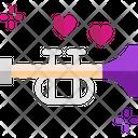 M Saxophone Icon