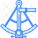 Sextant Navigation Pirate Icon