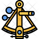 Sextant Navigation Location Icon