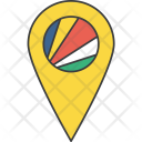 Seychelles African Country Icon