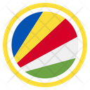 Seychelles Country National Icon