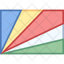 Seychelles Flag Country Icon