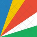 Seychelles Flag World Icon
