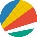 Seychelles Flag World Icon