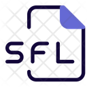 Sfl File Audio File Audio Format Icon