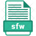 Sfw File Formats Icon