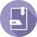 Sh File Icon