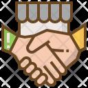 Shake Hand Ecommerce Icon