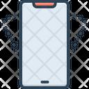 Shake Smartphone Vibrate Icon
