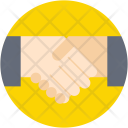 Partnership Shake Hands Icon