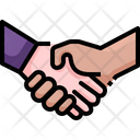 Shakehand Agreement Deal Icon