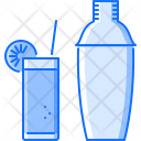 Shaker Cocktail Glass Icon