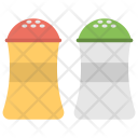 Salt Pepper Containers Icon