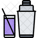 Shaker Glass Cocktail Icon